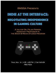 BMSSA Indie Games Poster