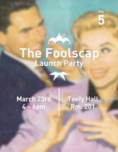 Foolscap Launch Party